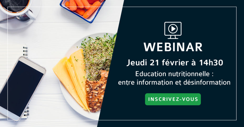 Webinar éducation nutritionnelle