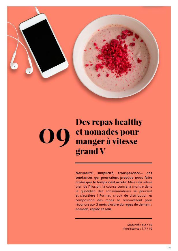 rapport de tendance Nutrikéo