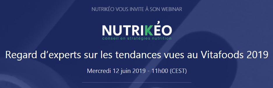 webinar vitafoods 2019