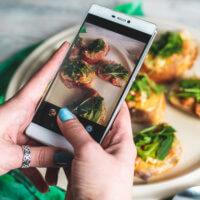 food social media