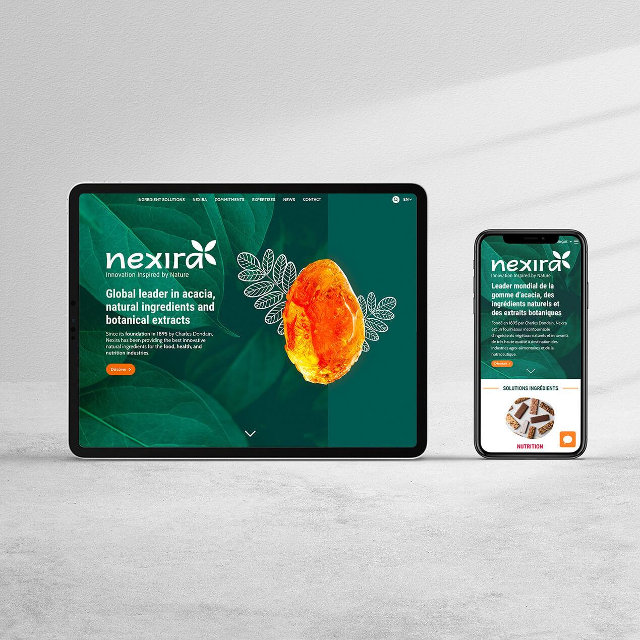 Nexira stratégie marketing et digitale
