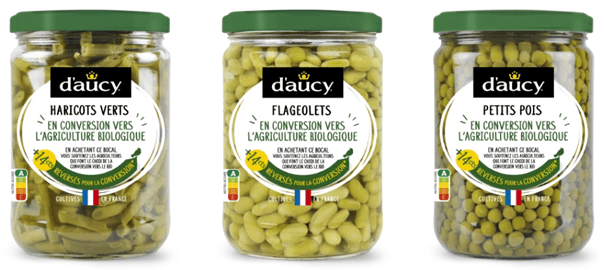 innovation alimentaire d'Aucy